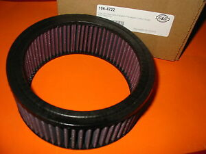 Details about New Air filter element S&S Super E Super G S and S Florida