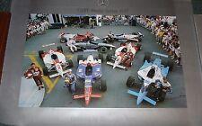 Indy Car - Cart World Series 1997 Mercedes Poster Greg Moore - Dario Franhitti