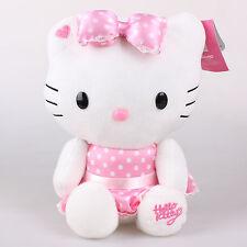 Neu 32Cm Sanrio Hello Kitty Dress Plüschtiere Kuscheltier Plüsch Stofftier Puppe