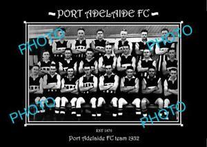 SANFL-LARGE-HISTORIC-PHOTO-OF-THE-PORT-ADELAIDE-FC-TEAM-1932