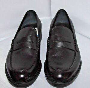 Z-Zegna-Parsons-smooth-calf-loafer-black-Men-039-s-10-M