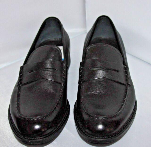 Z Zegna Parsons smooth calf loafer black Men's 10 M