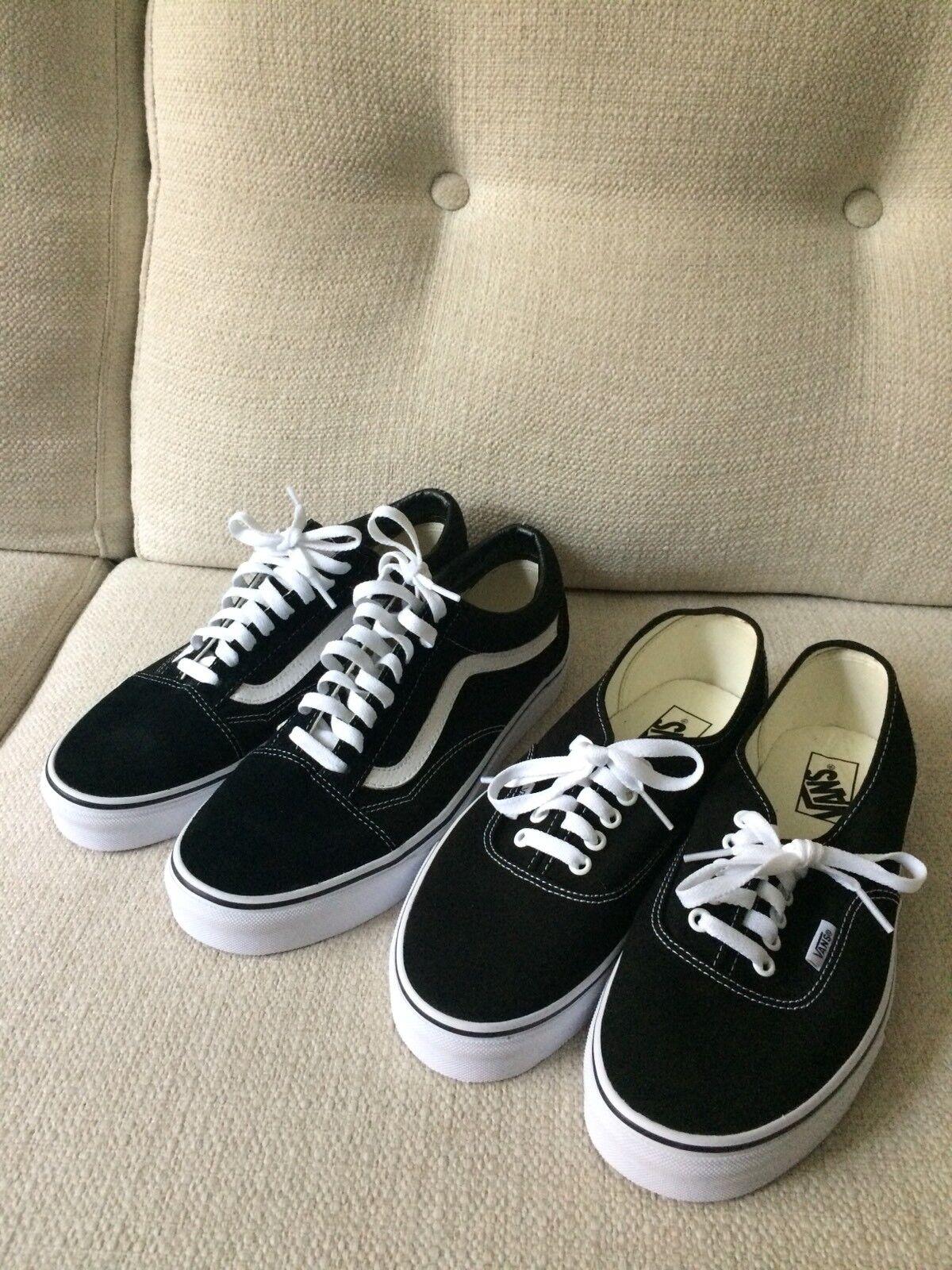 Vans Old Size Skool and Regular Skateboarding shoes   Size Old 9 Uomo 10.5 Donna Unisex b4da17