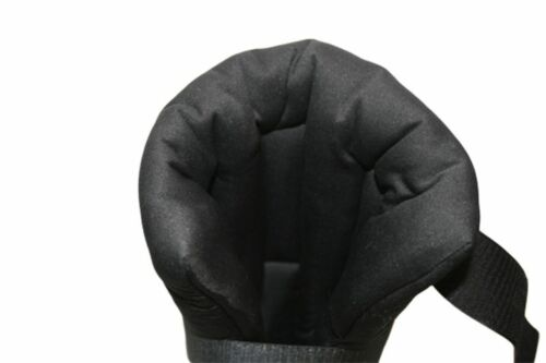Size S-L Ceratex Pair koppeltaugl Hutch GAITER Xtreme 100/% Ceramic Fabric klettv