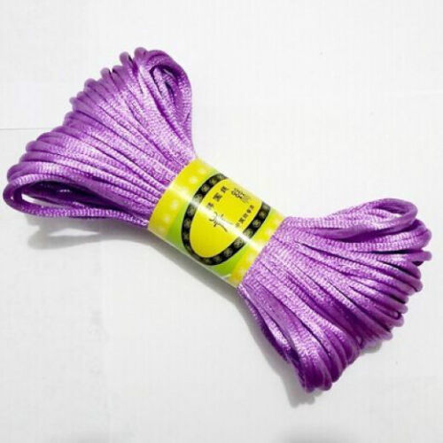 20m-Chinese-Knot-Satin-Nylon-Braided-Cord-Macrame-Beading-Rattail-Cords-3mm