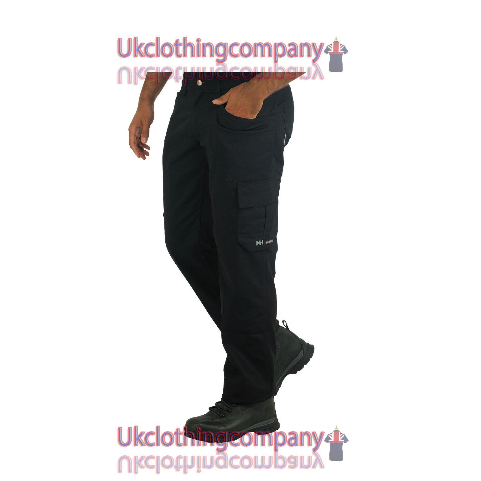Helly Hansen Durham Adjustable Hem trousers -Workwear Service Pants  30