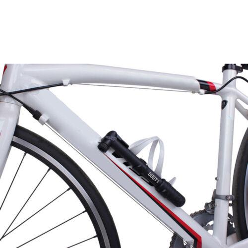 Mini Inflator Luftpumpe Fahrrad Radfahren 38cm Schwarz Praktisch Hohe Qualität