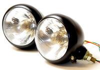2x Scheinwerfer mit Standlicht Traktor Lampe 12v Bagger Schlepper  Licht Lampen