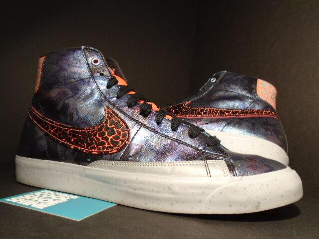 Nike Dunk BLAZER BLAZER BLAZER MID PREMIUM QS AREA 72 ALL-STAR CRIMSON noir Violet Gris Sz 12 5ab497