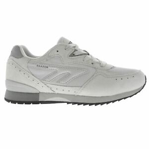 Hi-tec-SILVER-SHADOW-Men-039-s-Classic-Retro-Style-GYM-Running-Trainers-Shoes-Size-7