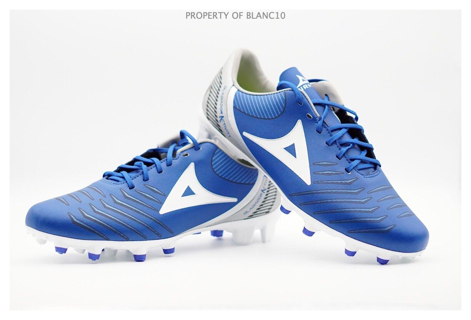 Pirma Botines De Fútbol-Estilo 3019-Azul Plata-Gladiador actividad