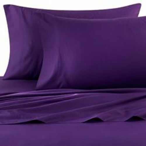 Bedding Items Purple Solid Luxurious 1000 TC Egyptian Cotton Select Size&Item