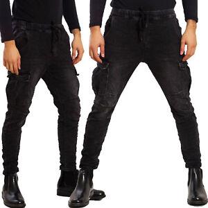 Pantaloni-uomo-cargo-militari-tasconi-laterali-casual-TOOCOOL-laccio-AD7575A