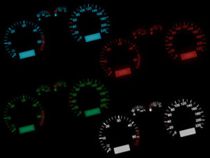 Blauer-velocimetro-velocimetro-iluminacion-LED-remodelacion-skoda-Octavia-VW-Passat-3-B-3b