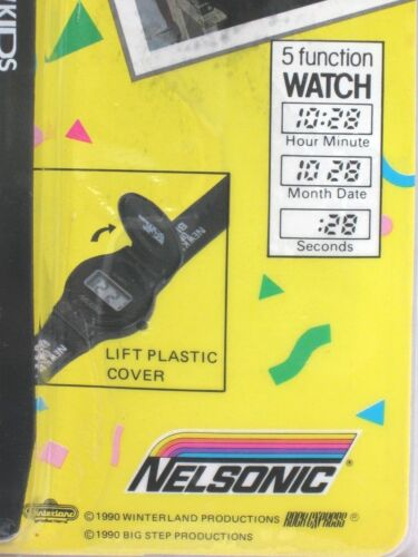 1990 Vintage Nelsonic New Kids on the Block Original Watch Sealed Great Deal