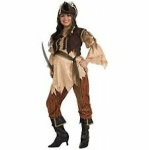 Image is loading Maternity-Halloween-Costumes-PIRATE-QUEEN-Adult-Std-Size-  sc 1 st  eBay & Maternity Halloween Costumes PIRATE QUEEN Adult Std Size Mommy to Be ...