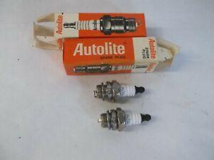 Autolite Spark Plug Pair 235 replaces Champion CJ8 /& AC CS45 /& Motorcraft A7N