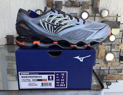 Mizuno Sneakers Blue Red Silver Wave Prophecy 2 Training Running Mens Size 10.5
