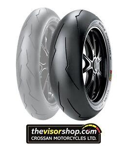 pirelli 190 55 zr17 diablo supercorsa sp v2 motorcycle road and track tyre ebay. Black Bedroom Furniture Sets. Home Design Ideas