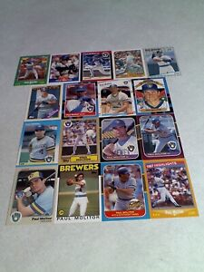 Paul-Molitor-Lot-of-50-cards-46-DIFFERENT-Baseball