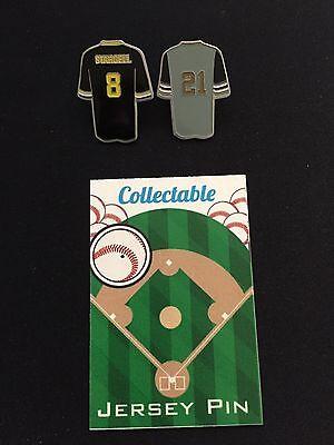 #1 Seller- Pittsburgh Pirates Pins-clemente & Stargell-buc's Nation Ziegen Einfach Zu Reparieren 2