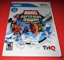 Marvel Super Hero Squad: Comic Combat uDraw Tablet Nintendo Wii New! Free Ship!