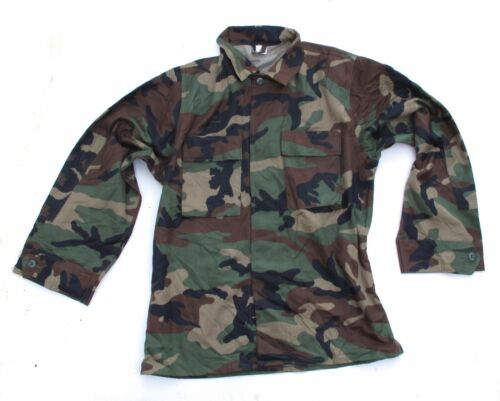Croation Army Woodland Camo Shirt Paintball Larp Shooting Fishing Bushcraft M