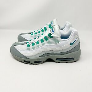 Details about Nike Air Max 95 Essential Light Pumice Clear Emerald U.S 749766 032 Mens Sz 12