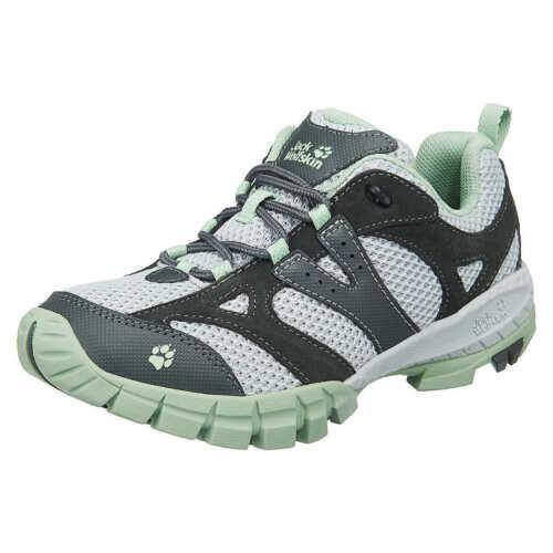 Oxfords Grigio da Wolfskin Volcano gr Sneakers nuovo ginnastica Low Scarpe Jack 37 q6tOHH