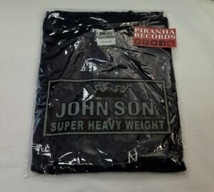 John-Son-Premium-Quality-Navy-T-Shirt-XL-TALL-100-Cotton-Piranha-Records