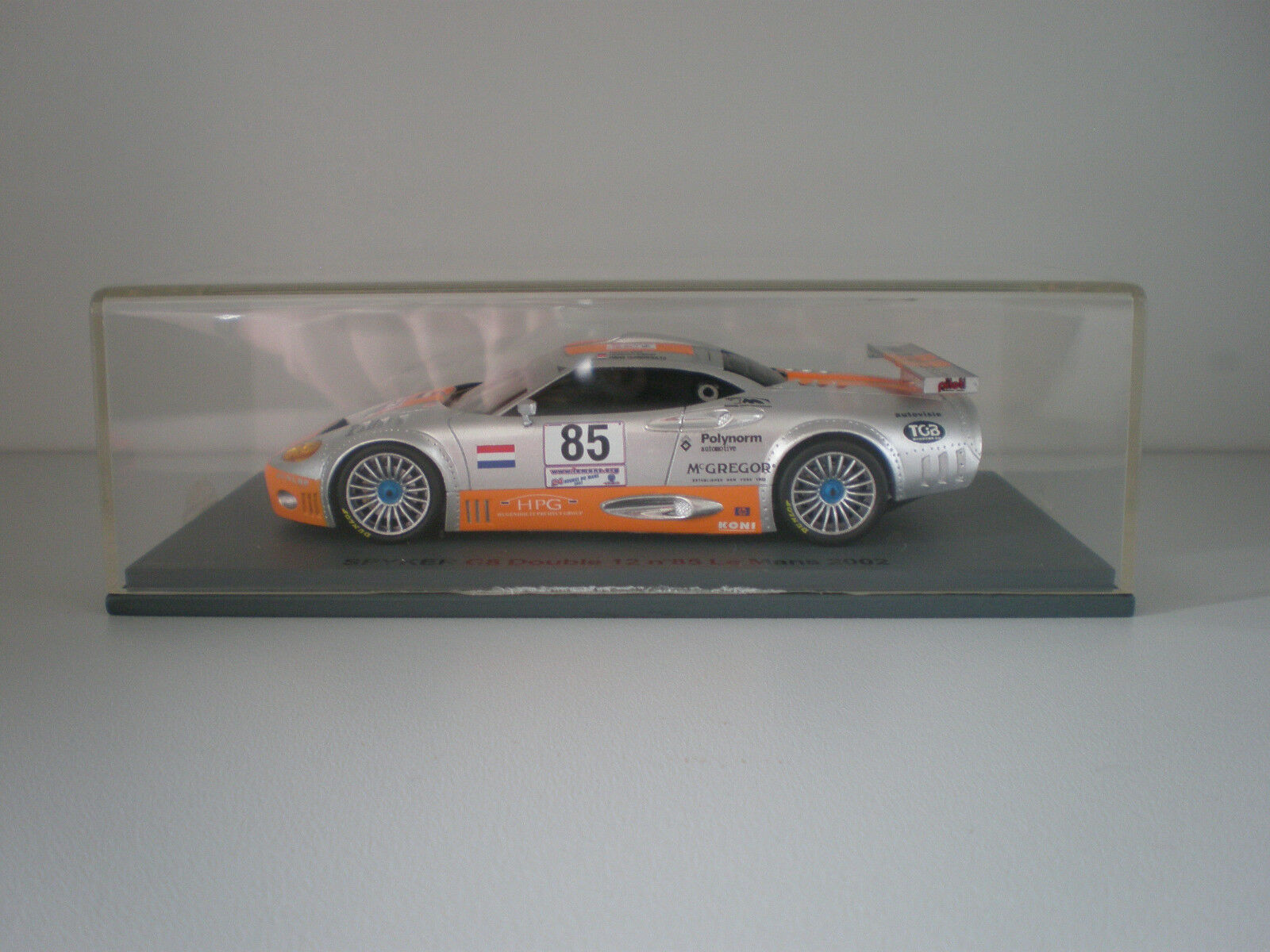 REPSPY04 Spyker C8 Double 12 R  85 Le Mans 2002 1 43  | Verbraucher zuerst