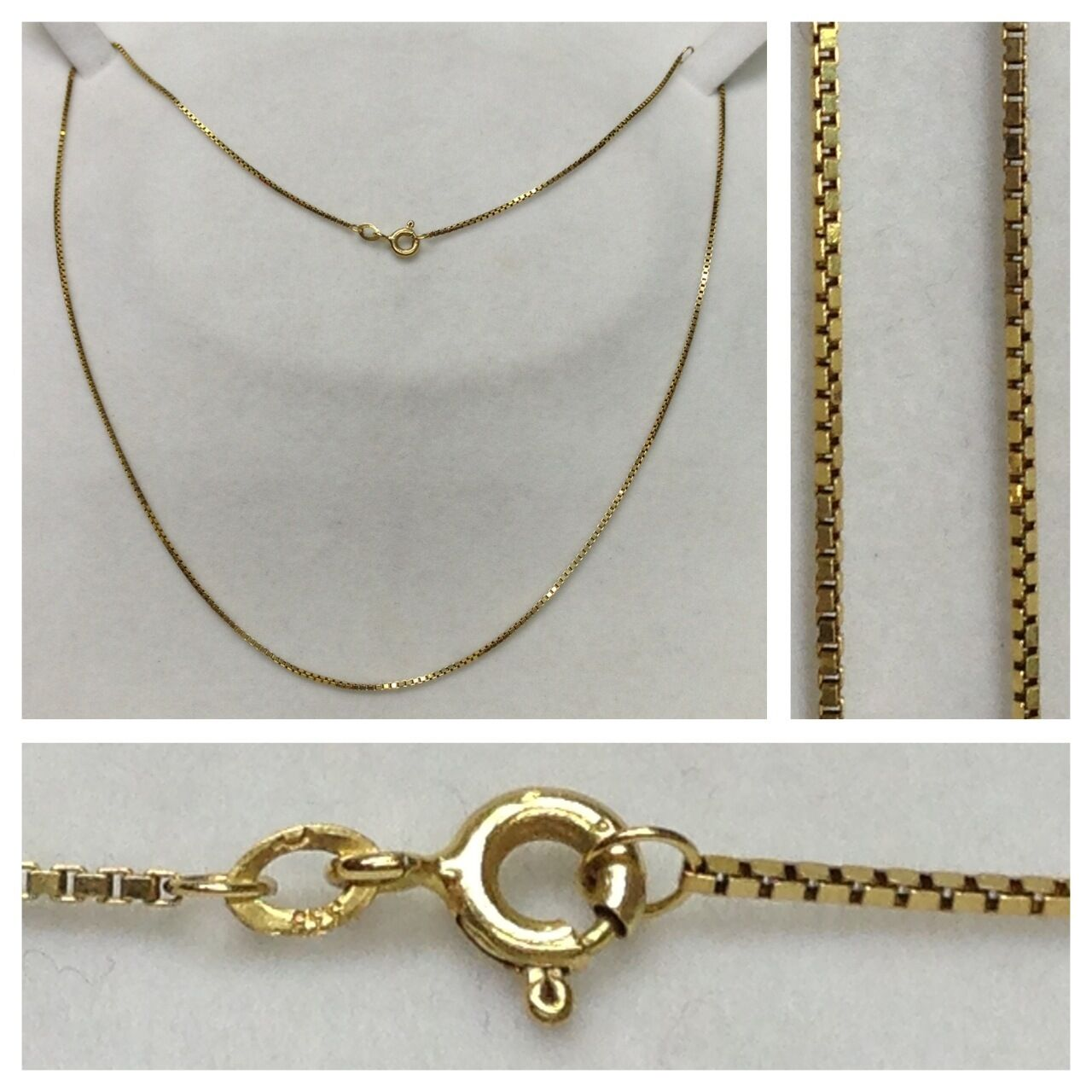 Cadena Veneciana Collar 333 gold Collar de gold cadena de gold Joya De gold 45cm