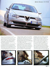 2002 Alfa Romeo 156 GTA - UK -  Classic Original Article J07
