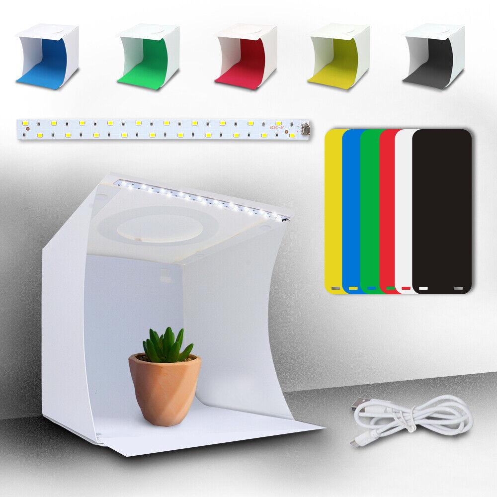 Photo Studio Photography Lighting Tent Light Room Cube Mini Box + 6pcs Backdrops 4
