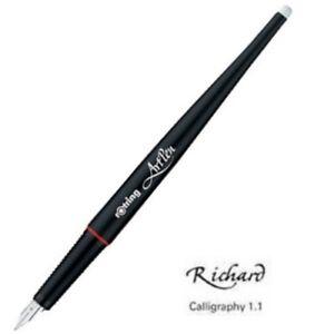 Rotring Füllfederhalte<wbr/>r ArtPen Calligraphy, Feder 1,1 mm, schwarz, Kalligraphie