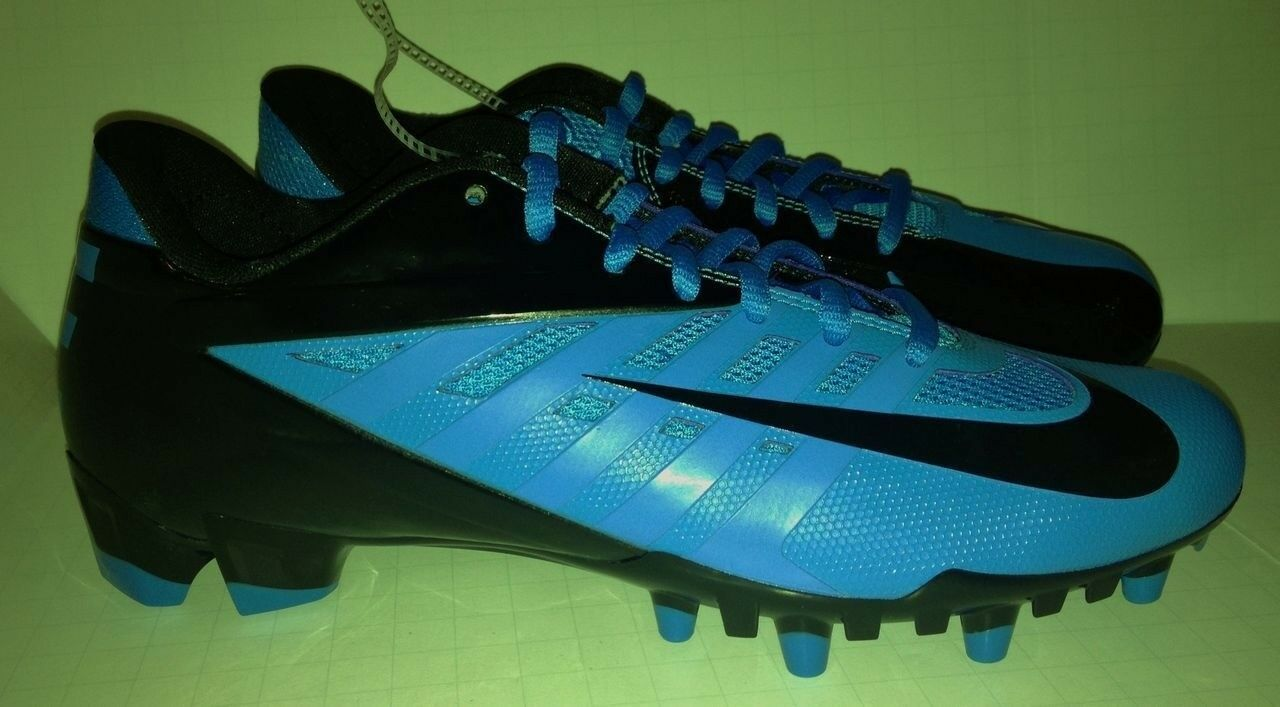 NIKE Vapor Pro Low TD Molded Molded Molded Football Cleats bluee Glow Black NEW Mens Size 12 b661c7
