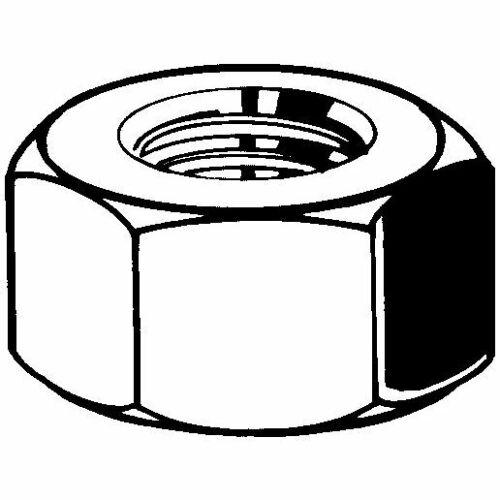 Sechskantmuttern M20 Stahl feuerverzinkt 8 ISO 4032 50 Stk