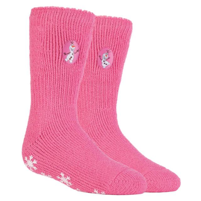 Disney Frozen Pink Slipper Socks Bnwt Size 9-11.5 kids bnwt Christmas gift