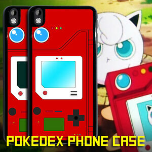 new arrival 5895b 1a7ed Details about Pokedex Pokemon Pokeball On Off Htc One M7 M8 M9 M10 X HTC  Desire 816 Phone Case
