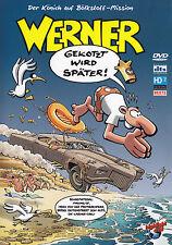 WERNER - DVD - GEKOTZT WIRD SPÄTER !