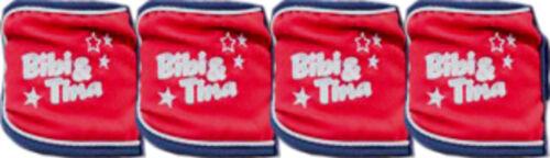 * 6965 HKM Bibi /& Tina 4er Set Polarfleece Bandagen