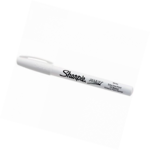 Details About Sharpie Oil Based Paint Marker Extra Fine Point White 1 Count Great For Roc