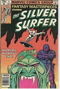 Marvel-Comics-Fantasy-Masterpieces-Vol-2-1979-Series-6-FN-Silver-Surfer