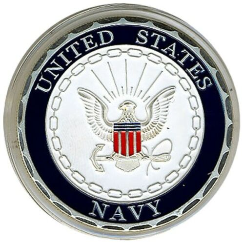 United States Navy SILVER Poker Card Protector New * Card Guard