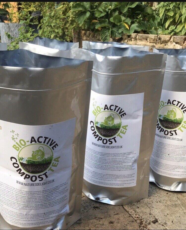 Chilli, Herb & Tomato Bioactive compost tea (20g Sachets) Professional Grade