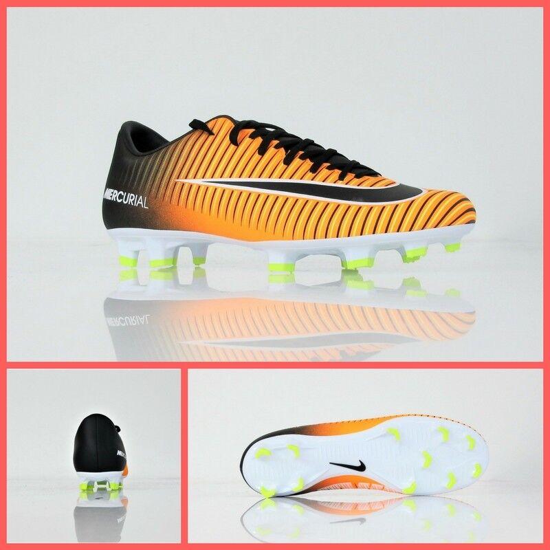 NIKE shoes football MERCURIAL VICTORY VI FG 831964 801 colour orange NE august