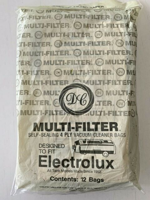 26 pack Genuine Electrolux Cleaner Vacuum 4 Ply Filter Bags New Unopened