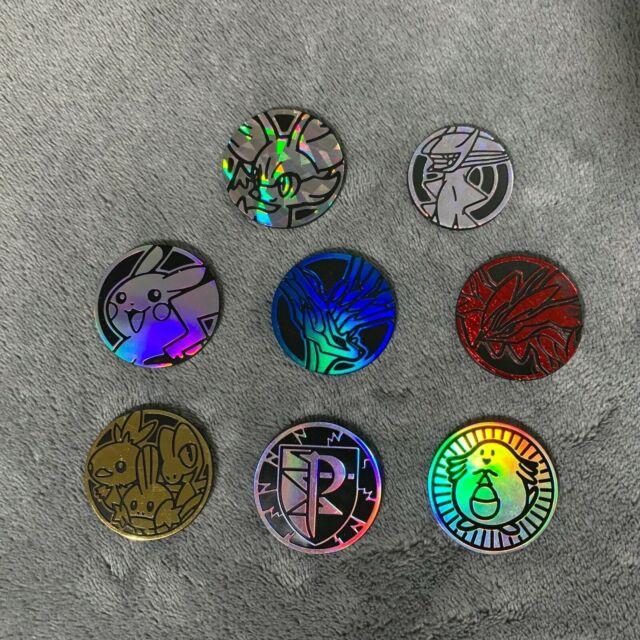 pokemon plastic coins