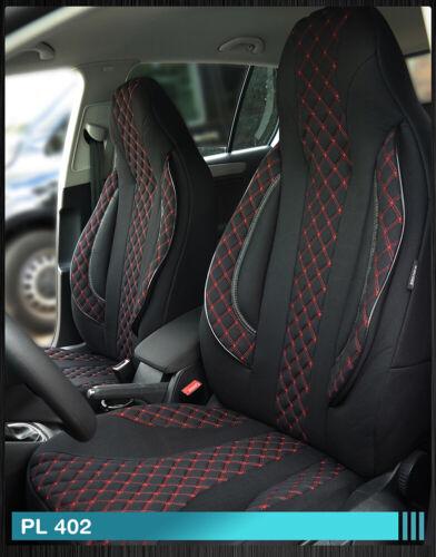 Maß Sitzbezüge Ford Tourneo Transit Custom Fahrer /& Beifahrer 2012-2018 FB:PL402
