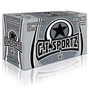 G.i. Sportz 1 Star Cal. 50 Paintballs (2000er Carton)-afficher Le Titre D'origine